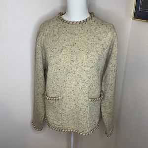 Woolrich  100% Wool Long Sleeve Sweater